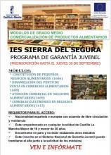 GARANTÍA JUVENIL COMERCIALIZACIÓN DE PRODUCTOS ALIMENTARIOS