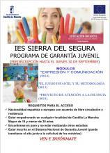 GARANTÍA JUVENIL EDUCACIÓN INFANTIL